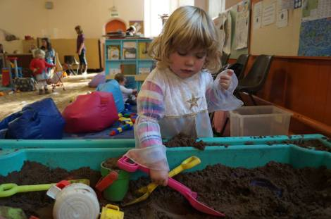 Chatterbox sand pit