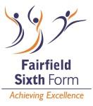 Fairfield sixth form logo white