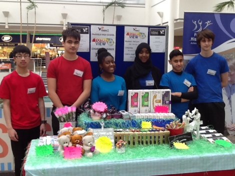 Young Enterprise Stall
