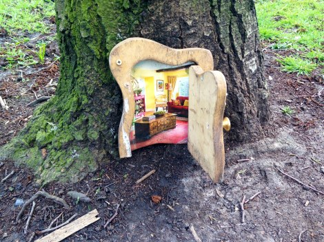 Magical Fairy Doors appearing around Bishopston